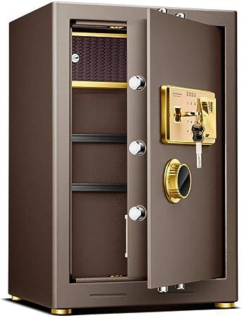 Caja Fuerte Caja de seguridad Caja de seguridad Key Lock digital y contraseña de huellas digitales