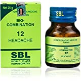 SBL Homeopathic Bio Combination 12 (25g) by USAMALL