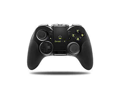 DroidBOX Play Gamepad - Bluetooth 3 0, Rechargeable Li-Ion battery for  Android and PC  Play games and emulators with dual sticks, D-Pad and 12  buttons