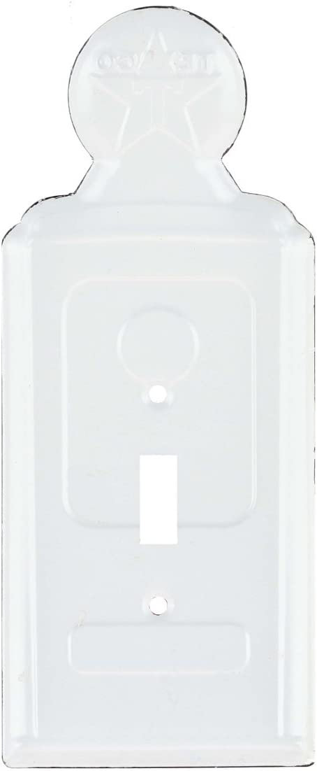Texaco Gas Station Pump Advertising Metal Light Switch Outlet Plate Cover