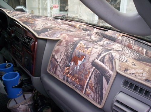 Amazon.com: Realtree Ap Camouflage Dash Cover Fits 2003-2005 Dodge Ram P/u  and (2002 Dodge 1500 Series Only): Automotive
