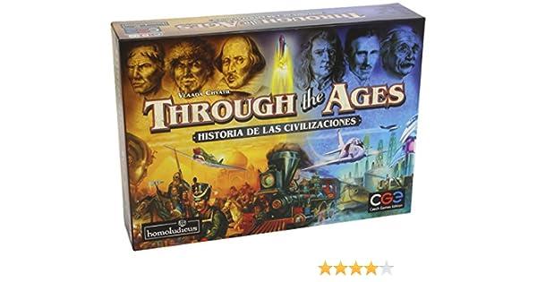 Devir - Through The Ages: Historia de Las Civilizaciones (25357): Amazon.es: Juguetes y juegos
