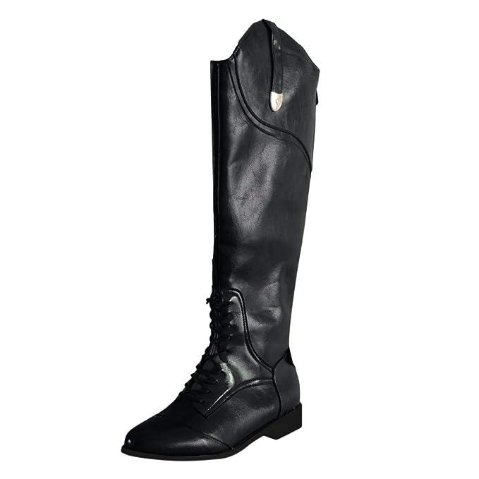 Amazon.com: Kenvina Botas para mujer, zapatos de tacón alto ...