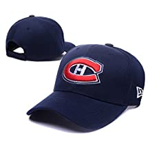 Fashion Reverse Team Color Takedown Flex Fitted Montreal Canadiens Team Logo Navy Adjustable Hat