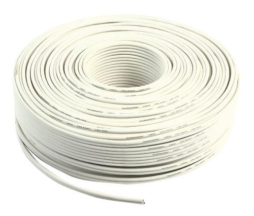 Valueline LSP-035R Câ ble Haut-parleur 2 x 2, 5 mm 100 m Blanc Câble