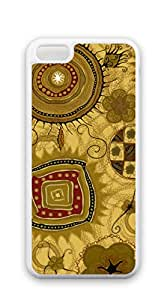 Hard Back Shell Case Cover iphone 5c cases for guys - Retro yellow cloth