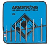 Armstrong 70-553 Tool Steel Pin Punch Set, 7-Piece by Apex Tool Group