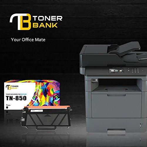2pk TN850 Black Toner Cartridge TN820 For Brother MFC-L5800DW L5850DW HL-L6200DW