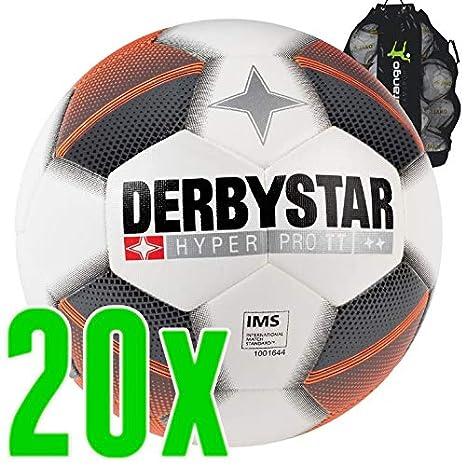 Sarango Sport Derbystar Hyper Pro TT - Balón de fútbol (20 ...