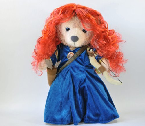 Brave Bears Costume (Fit to Sherry Mae S [Merida and the fear of forest (Brave / Brave)] Merida costume 4-piece set of)
