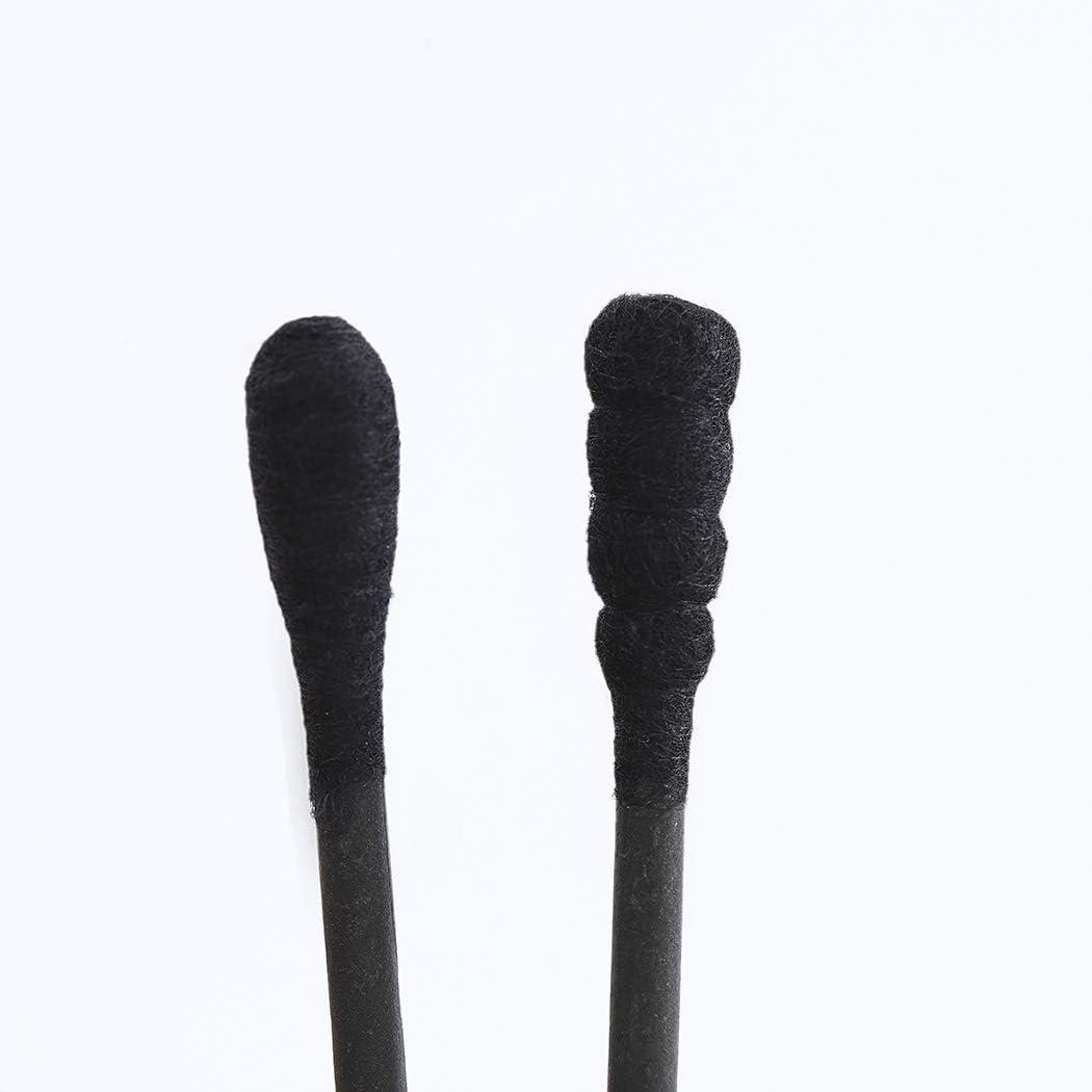 limpieza sanitaria de algod/ón limpieza y maquillaje en caja de herramientas de belleza Juego de 200 hisopos de algod/ón de doble cabeza para limpieza de belleza Edary Cotton Swabs