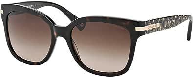 Coach Womens Alfie Sunglasses (HC8103) Tortoise/Brown Acetate - Non-Polarized - 55mm