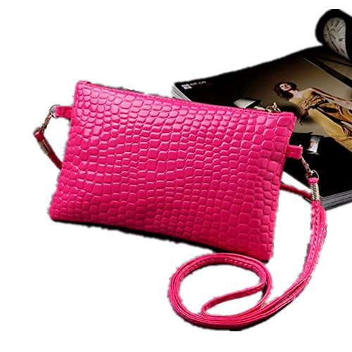 PU Shoulder Women Nodykka Bags Rose Leather Body Pebbled Handbags Clutches Purse Cross x6146wt