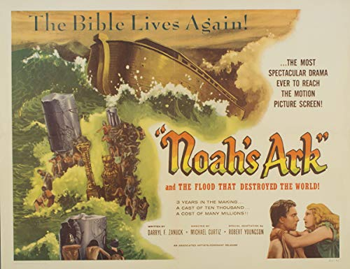 (Berkin Arts Movie Poster Giclee Print On Canvas-Film Poster Reproduction Wall Decor(Noah's Ark 2) #XFB)