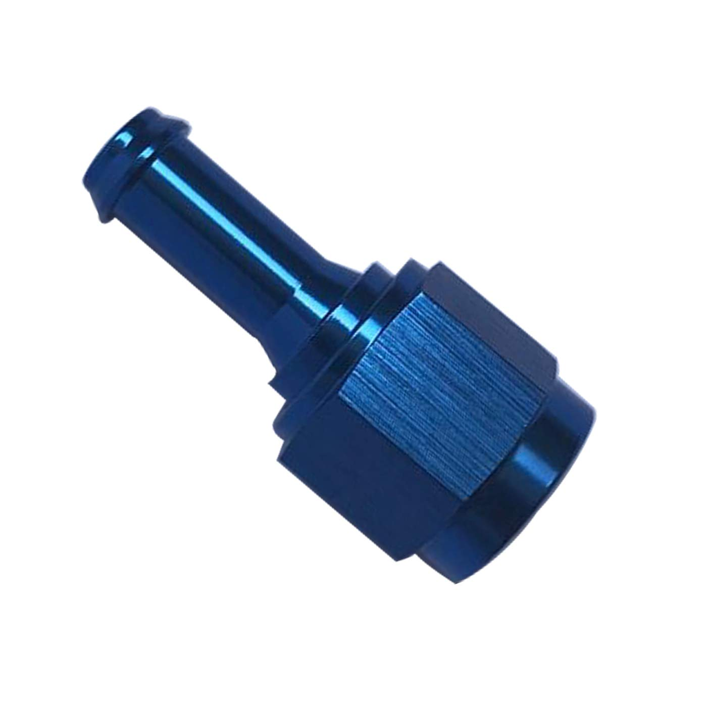 Female 8AN AN8 To 1//2 Barb 45 Degree Swivel Hose Fitting Aluminum Hose Barb Fuel Line Adapter Black Anodized
