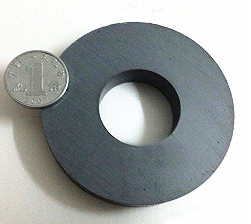 AOMAG Ceramic C8 Ferrite Large Ring Hard Magnets 4 In Dia