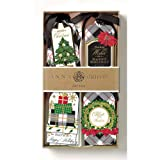 Anna Griffin Christmas Gift Tags 3D Plaid Festive