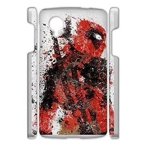 Google Nexus 5 Phone Case White Deadpool VMN8133550