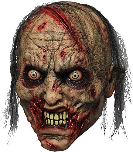Rotting Zombie Biter Adult Mask -