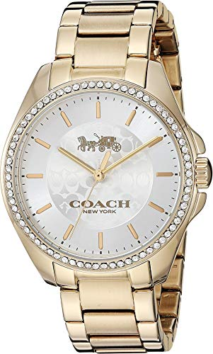Watch Gold Coach - COACH Women's Tristen Gold 2 One Size