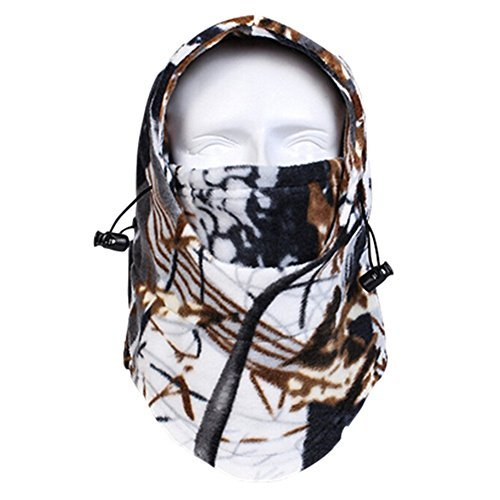 GoYonder Adjustable Thermal Fleece Balaclava Winter Outdoor Sports Face Mask (RZ-013)
