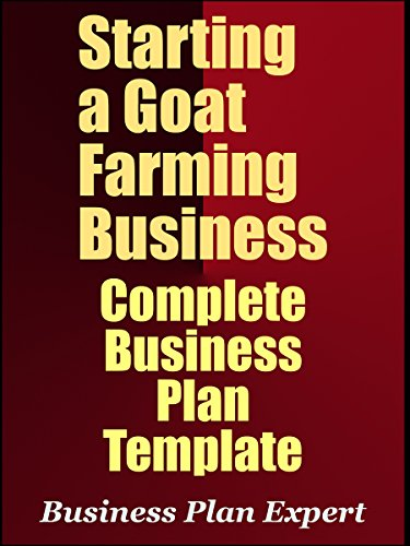Amazon Starting A Goat Farming Business Complete Business Plan