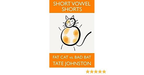 Fat Cat vs. Bad Bat: A Fun Phonics Story Starring Short Vowel A ...