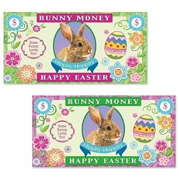 Amazon easter bunny money envelopes set of 8 4 of each easter bunny money envelopes set of 8 4 of each design 4quot negle Choice Image