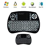 Best leegoal Mouse Pads - Leegoal(TM) Mini Wireless Keyboard with Touchpad Mouse Backlit Review