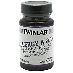 Twinlab Allergy A and D 100 Capsules