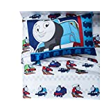 Thomas & Friends Twin Comforter and Sheet Set with Throw and Pillow Buddy