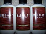 Lot of 3 Bath & Body Works Mahogany Woods For Men Body Lotion