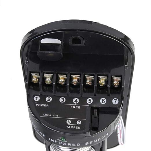 Amazon.com : ABT-100 100m Sensor Alarm Dual Beam Photoelectric Infrared Detector : Camera & Photo