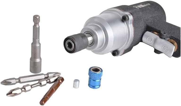 Yadianna High Strength Pneumatic Air Batch,Pneumatic Screwdriver Industrial Grade Hand Tool Multifunction and Ergonomic