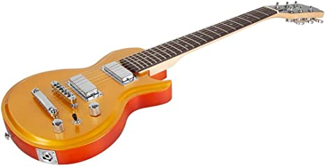 Monoprice 610127 Indio Mini Cali guitarra eléctrica – azul con ...