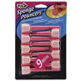 Tulip 27813 Sponge Pouncers, 9-Pack