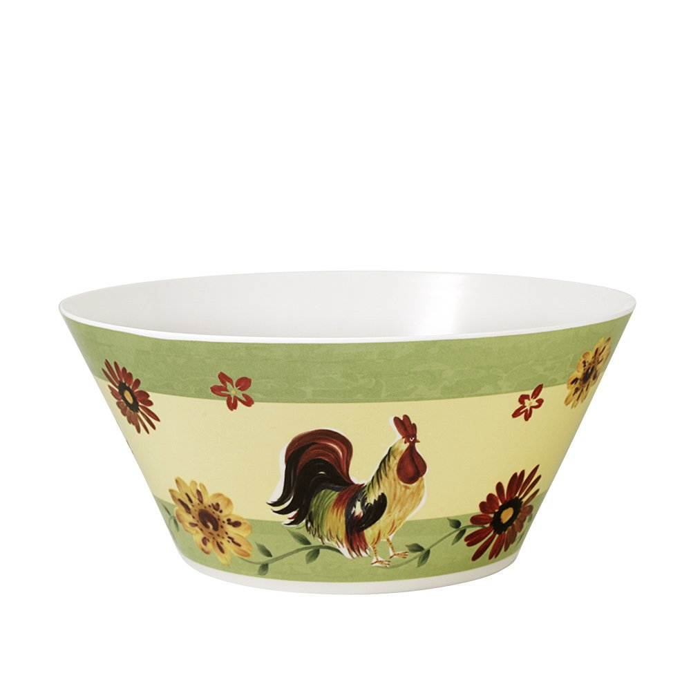 Pfaltzgraff Daybreak Melamine Serving Bowl, 3/1-2-Quart