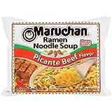 Maruchan Ramen Picante Beef Flavor, 3.0 Oz, Pack of 24