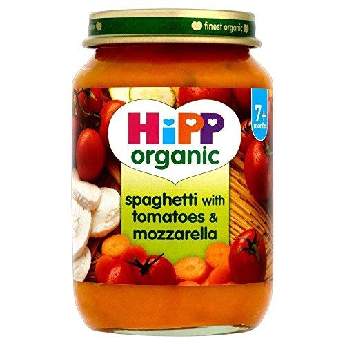 Hipp Organic Spaghetti with Tomatoes & Mozzarella 7mth+ (190g)