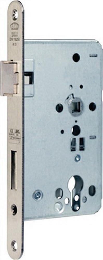BKS Cerradura para puerta cortafuego B-1206 24/65/72/9mm DIN L 24mm rd BKS