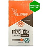 Bulletproof Coffee French Kick - Premium Gourmet Dark Roast Organic Beans, Certified Clean Coffee, Upgraded Whole Bean (12 Ounces)