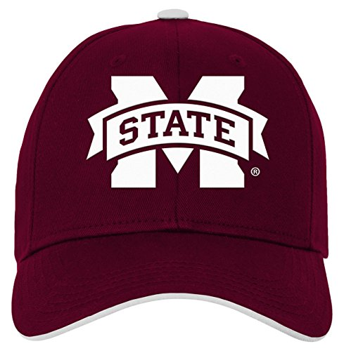 - NCAA by Outerstuff NCAA Mississippi State Bulldogs Kids & Youth Boys Basic Structured Adjustable Hat, Maroon, Youth One Size