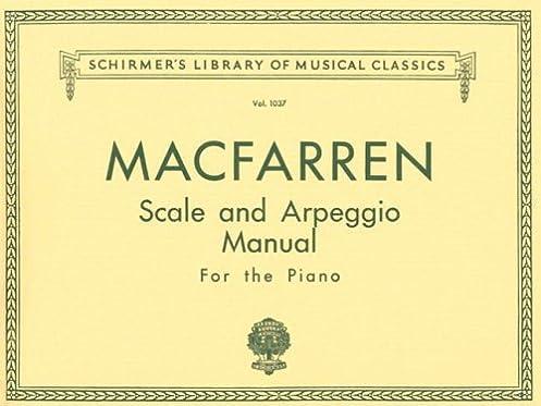 scale and arpeggio manual piano technique schirmer s library of rh amazon com Piano Major Scales Printable All Minor Scales for Piano