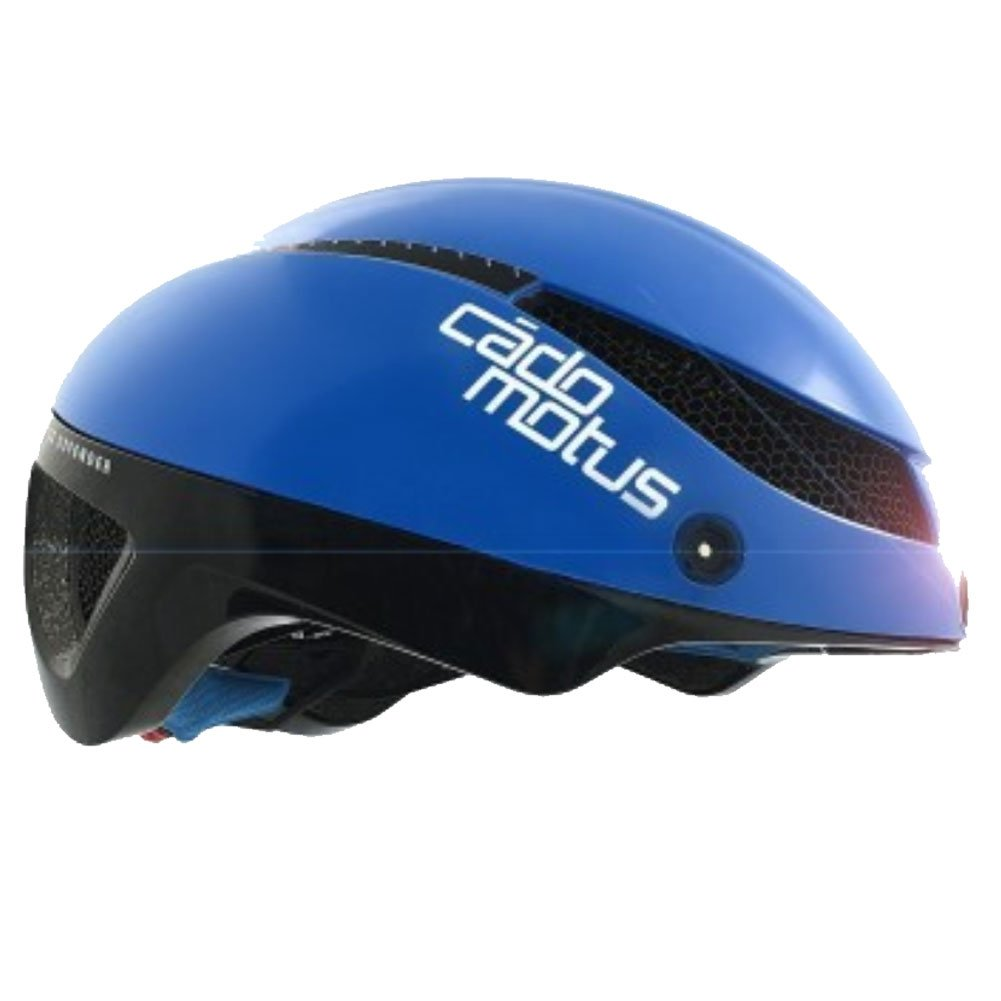 Cádomotus Omega Aerospeed Helmet - Blue Black-Small by Cádomotus