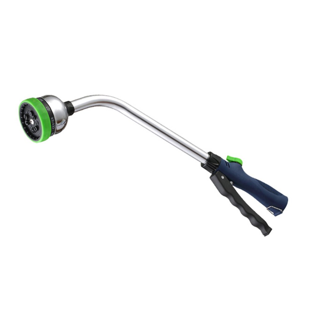 Watering Wand - 18 inch Garden Hose Sprayer with 9 Adjustable Spray Patterns Best for Hanging Baskets, Plants, Flowers, Shrubs, Garden and Lawn