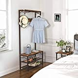 VASAGLE Industrial Coat Rack, 3-in-1 Hall