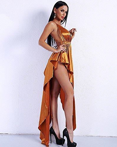 Kleid Missord Missord Gold Damen Cocktail Damen WwI55HqY