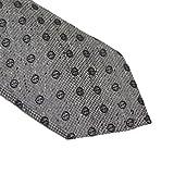 Gucci Woven Silk Men's Necktie 351799, Grey