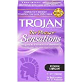 Best Condoms - Trojan Condom Her Pleasure Sensations Lubricated, 12 Count Review