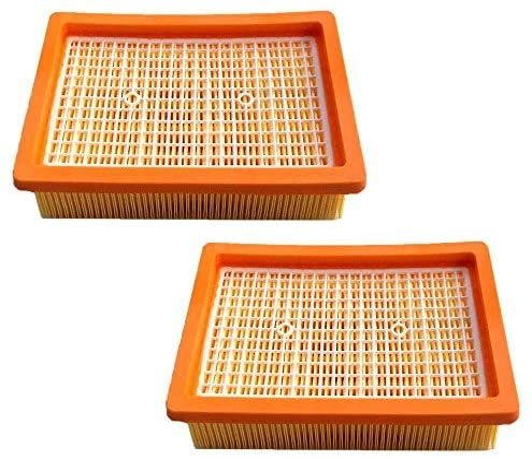 AM - 2 filtros HEPA para aspiradora Kärcher MV4 MV5 MV6 WD4 WD5 ...